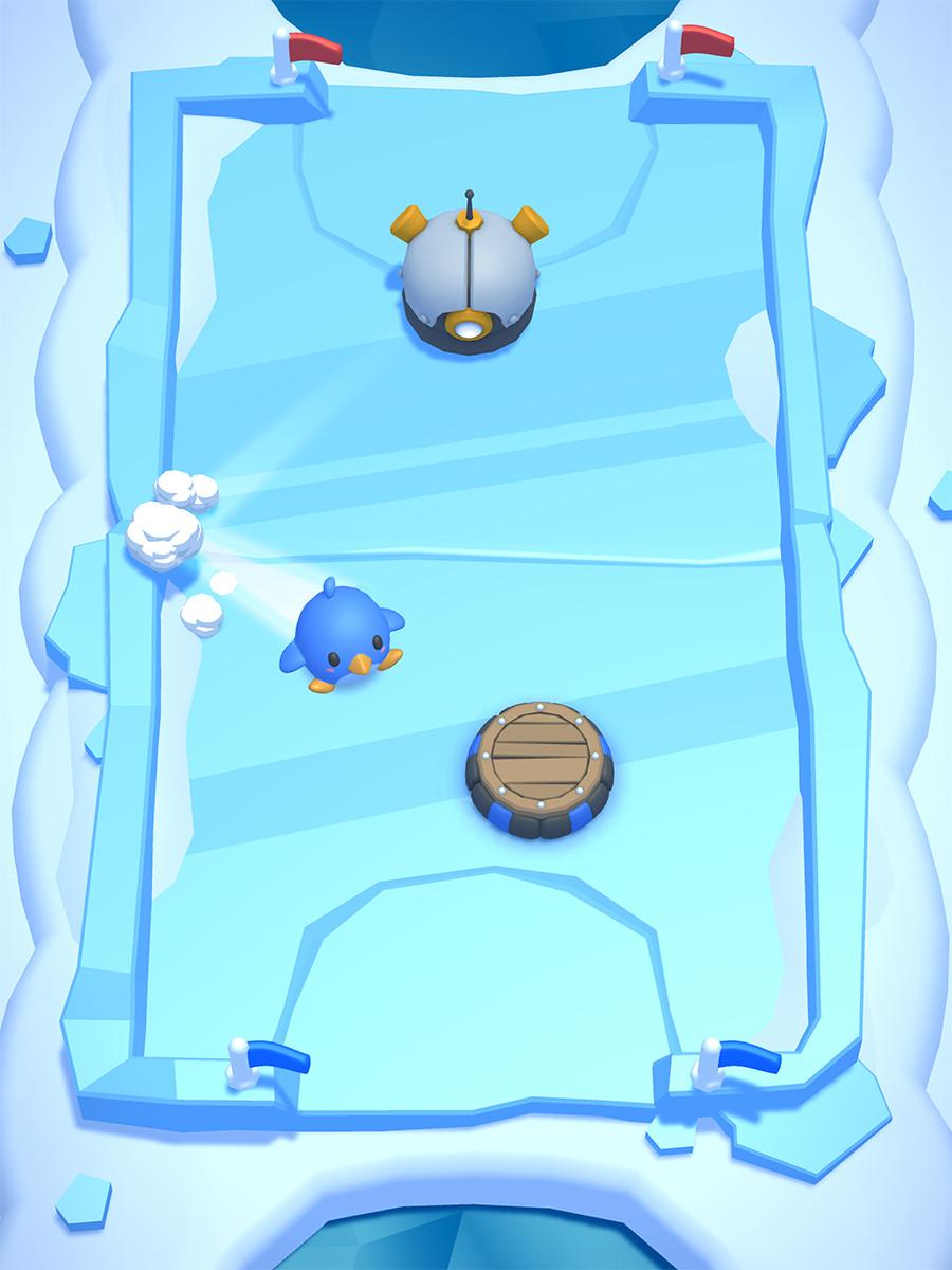 Gameplay screenshot of first level