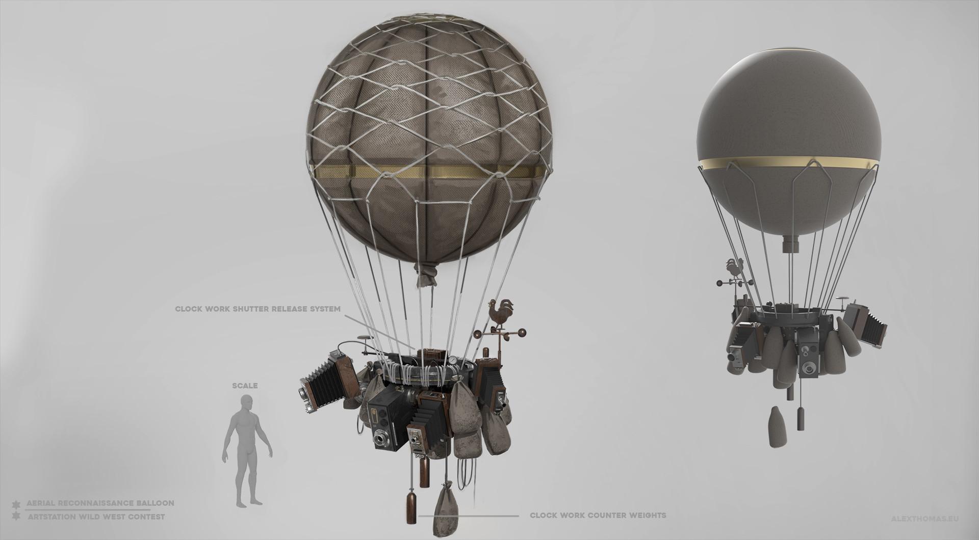 Alex thomas at wildwest aerialreconnaissanceballon fv1