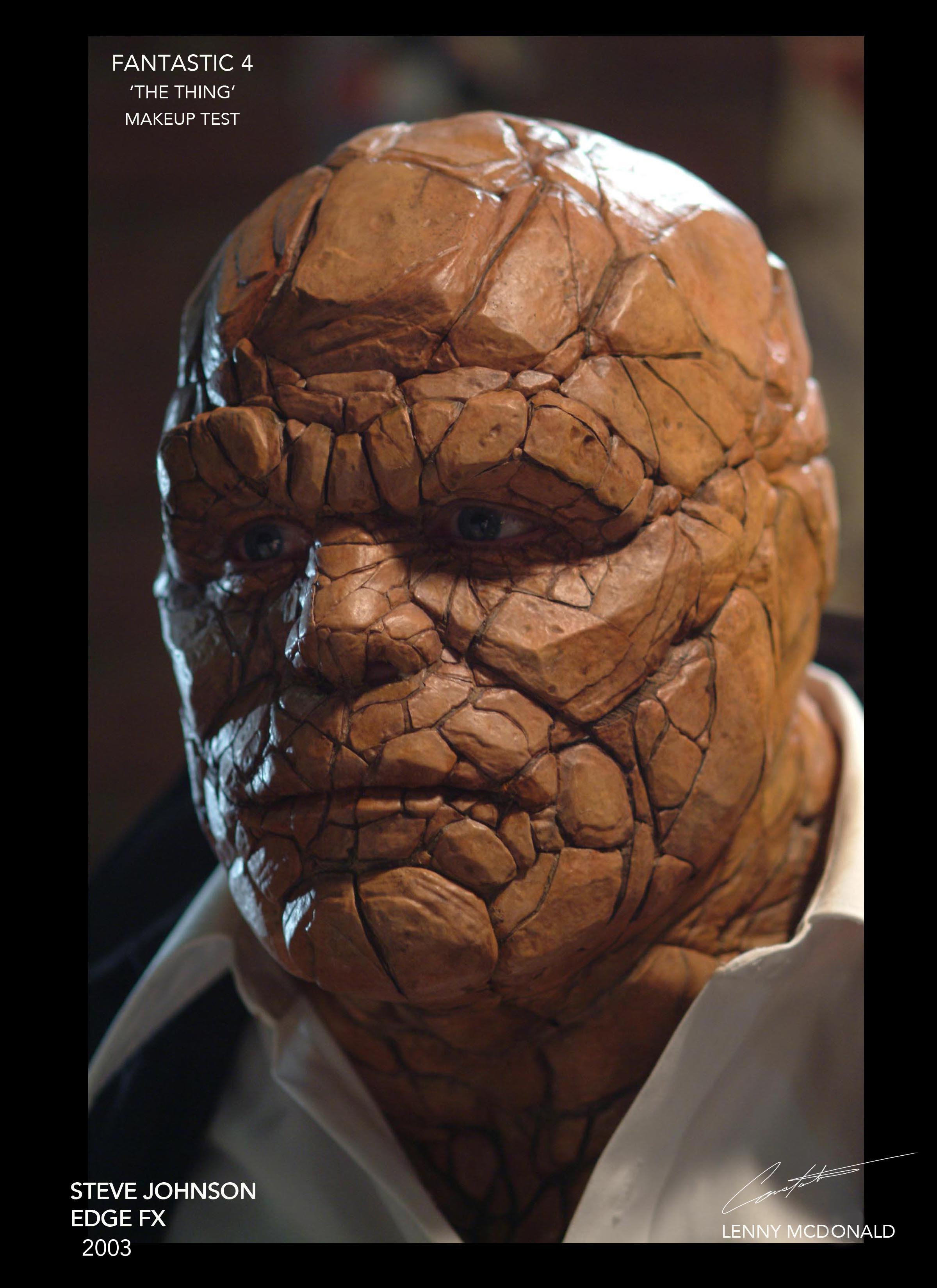 FANTASTIC 4 'THE THING' MAKEUP TEST 2003