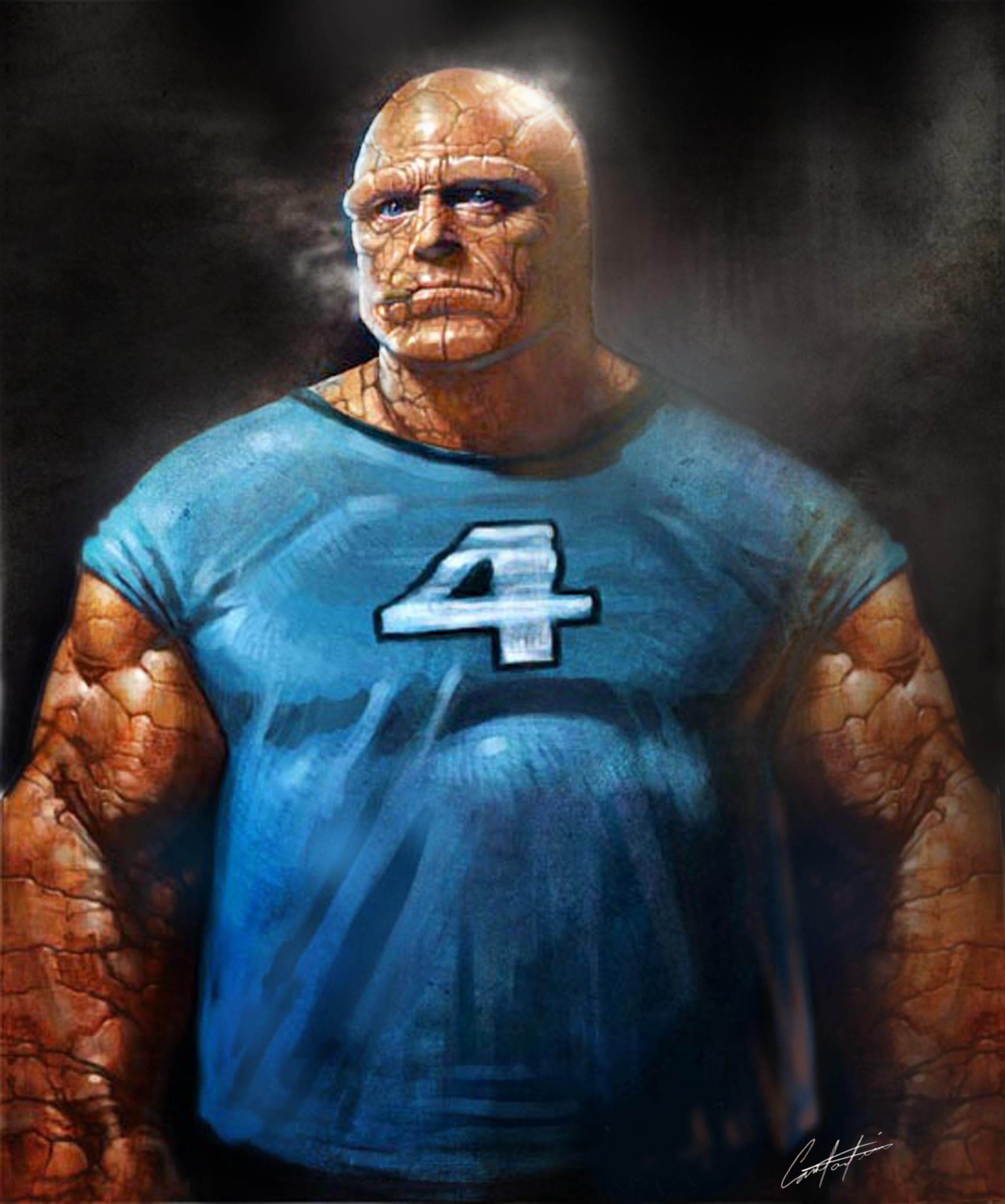 """FANTASTIC 4 'THE THING"""" DESIGN"""