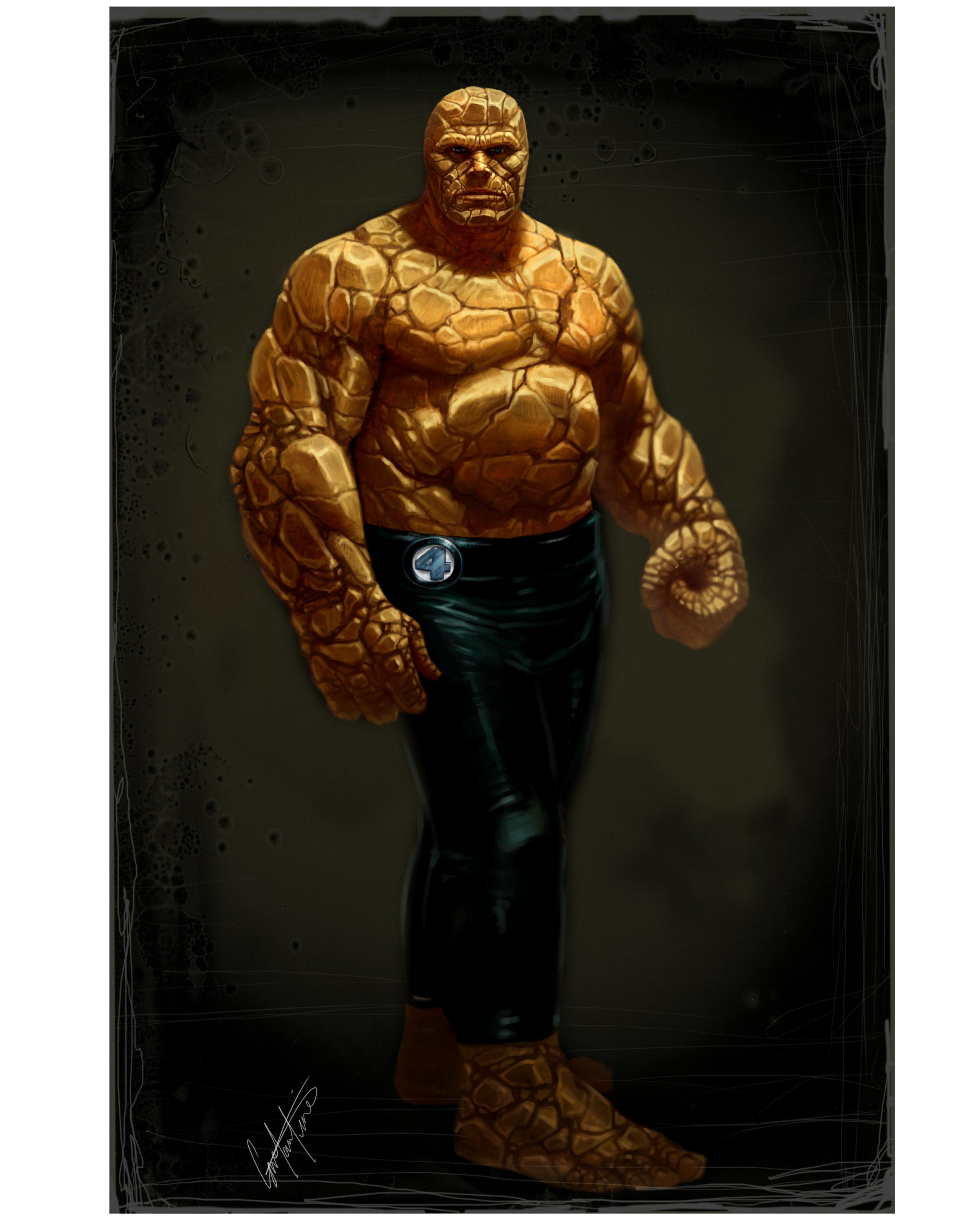 FANTASTIC 4 'THE THING' DESIGN