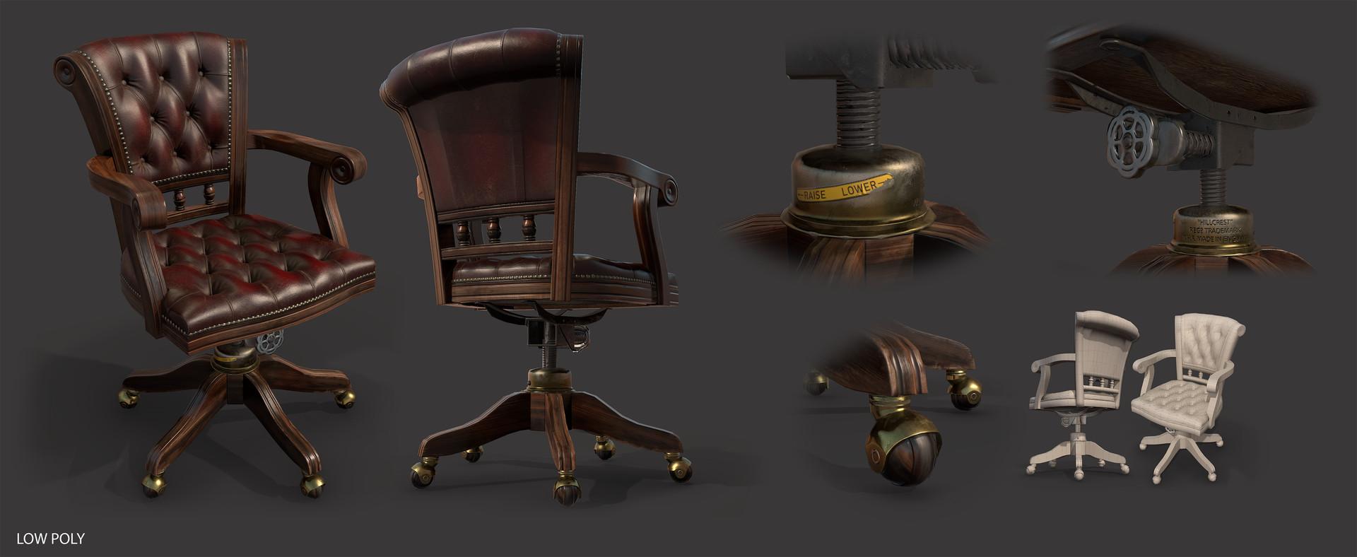 Paul foster chair sheet low
