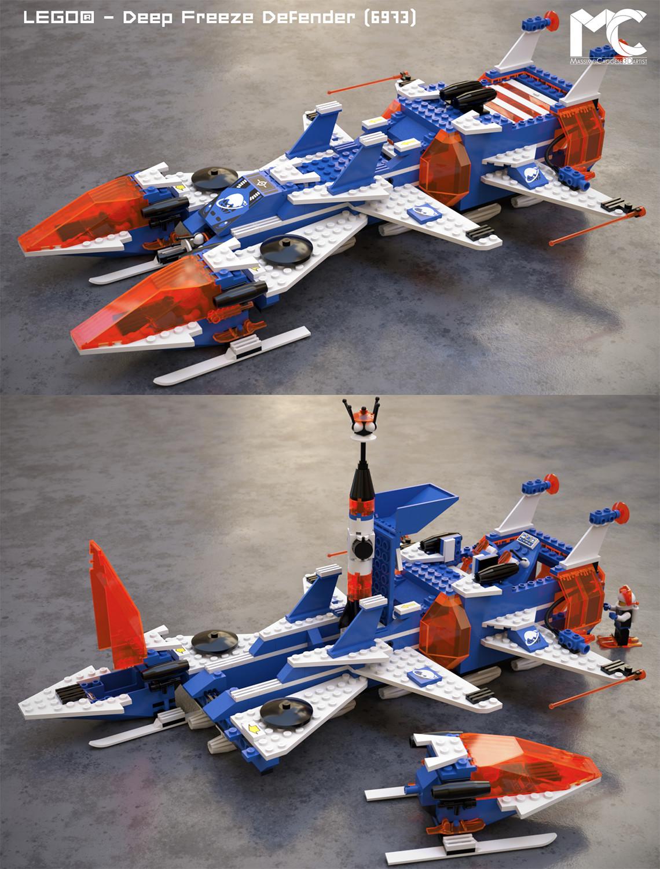 LEGO - Deep Freeze Defender (Octane Render).