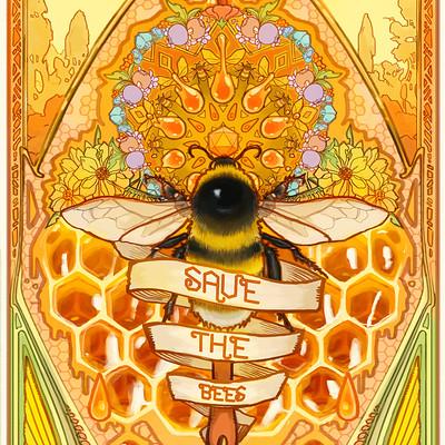 Mona fuchs save the bees 2018 work