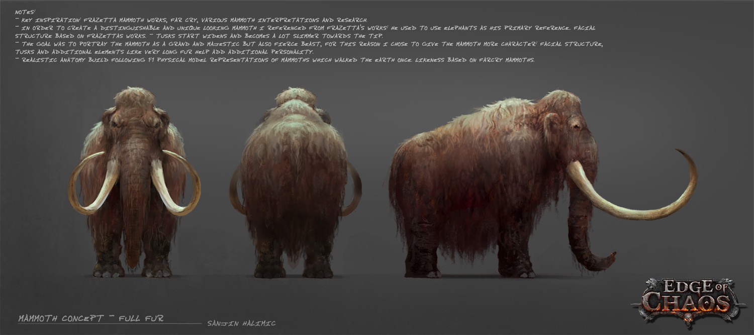 Wooly mammoth concept