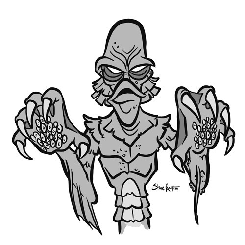 Day 6: Gill Man