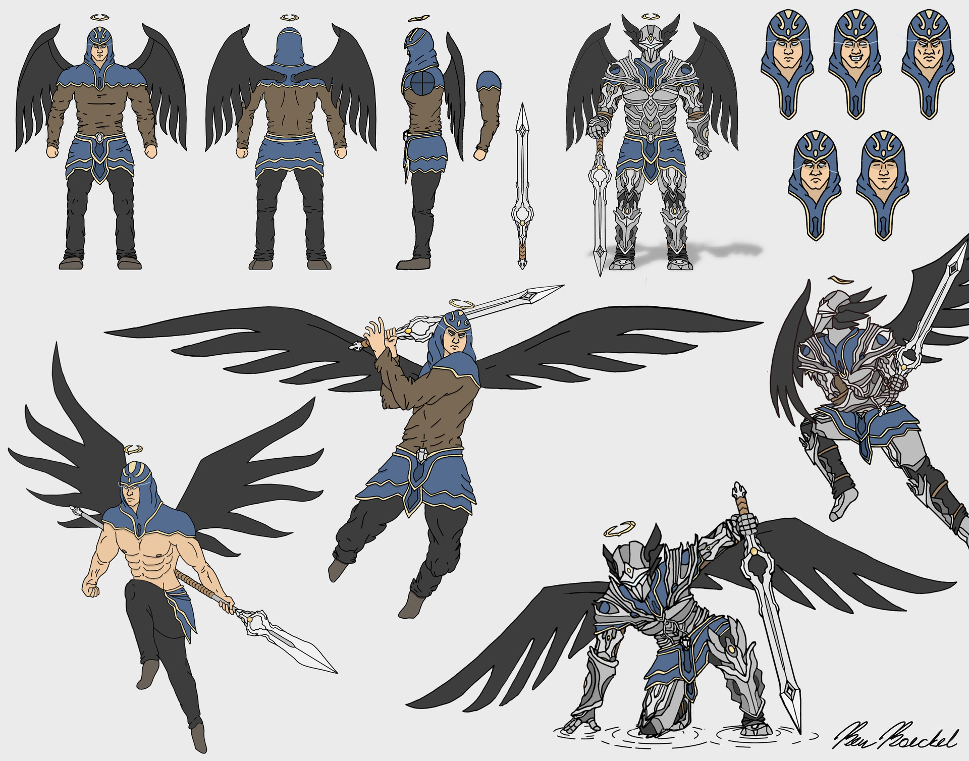 Ben Boeckel - Fallen Angel Addicus Character Sheet