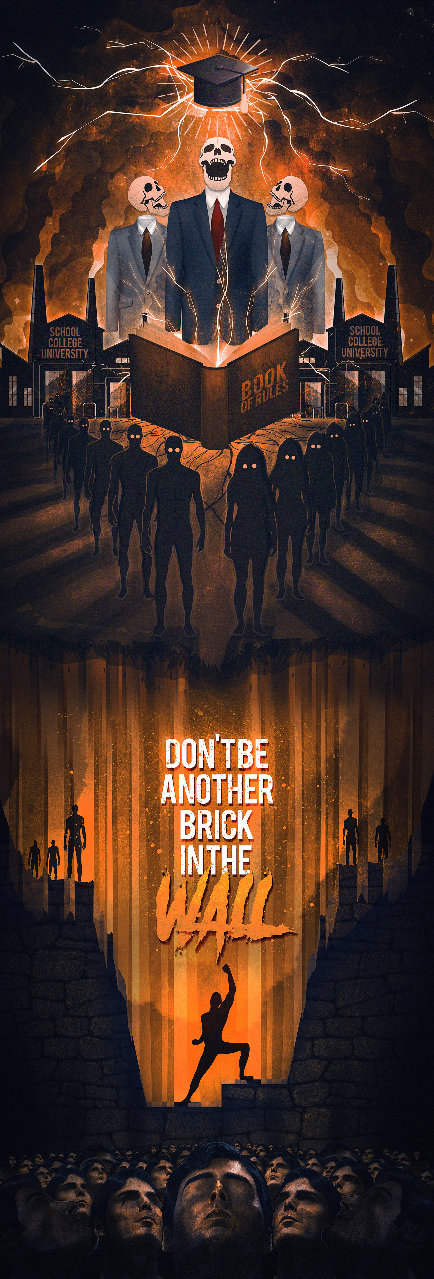 Raiyan momen nature s revolt don t be another brick in the wall main merged