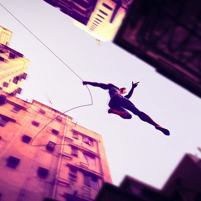 Ricardo guimaraes friendly neighborhood spiderman