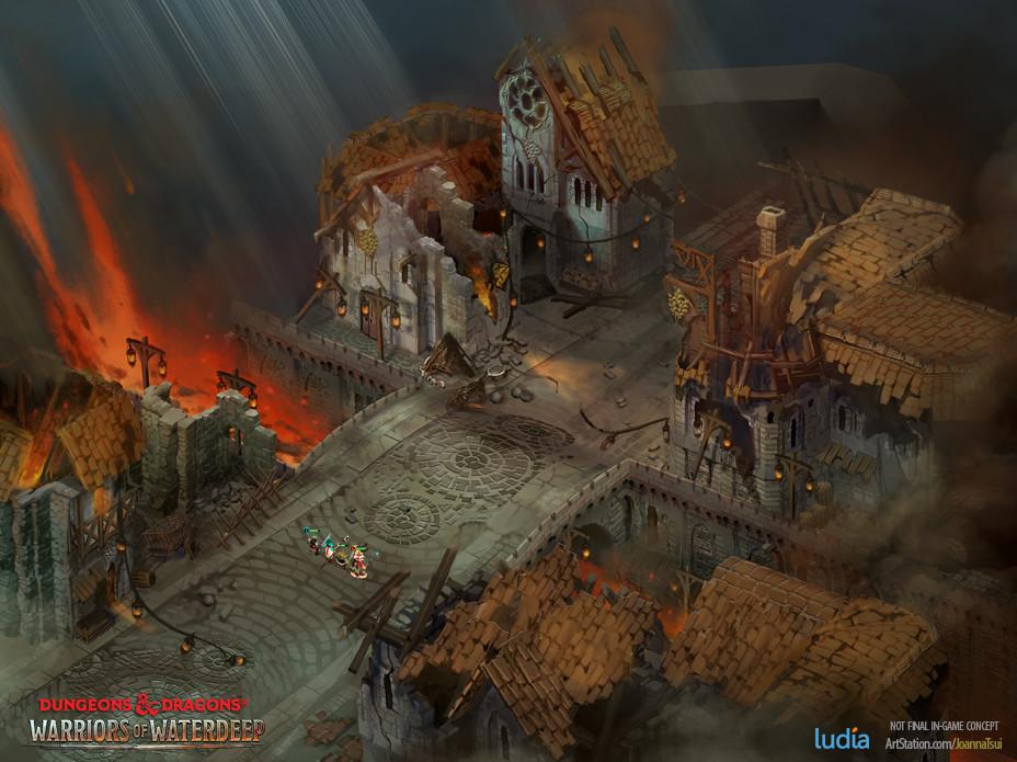 Joanna tsui dnd dungeon village