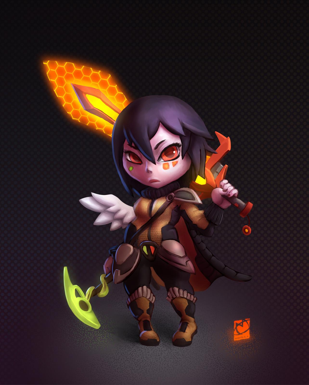 #drawthisinyourstyle - Scifantasy Warrior