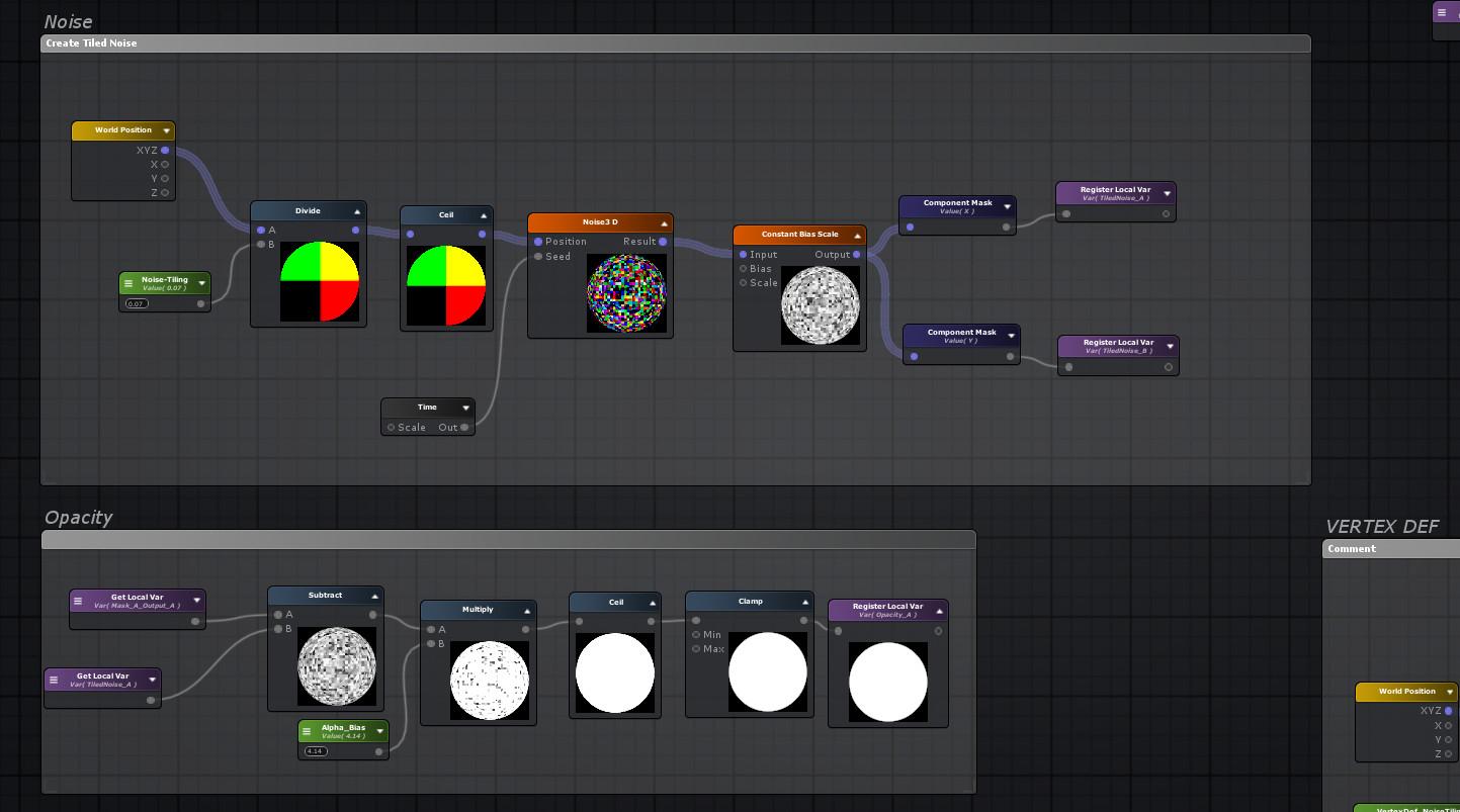 ArtStation - Unity Teleport / Dissolve shader, Guido Ponzini