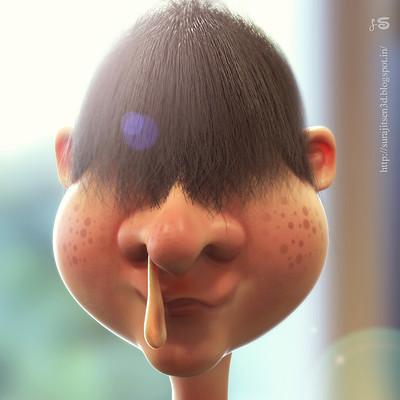 Surajit sen coldie funny concept character by surajitsen