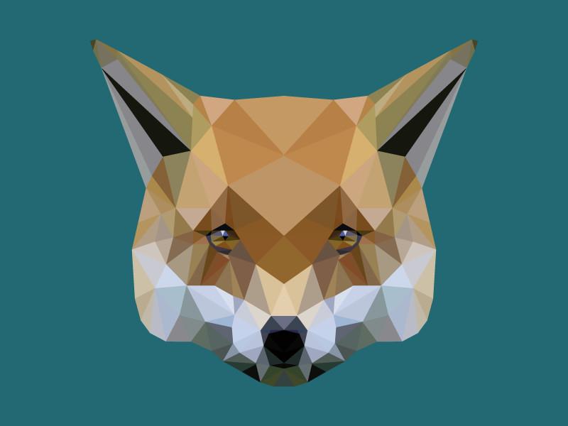 Jeanette aga lowpoly fox