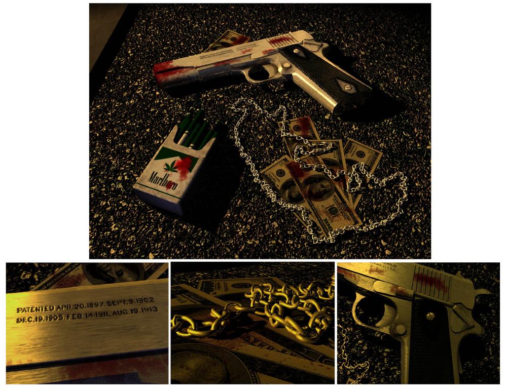 Gun on streets