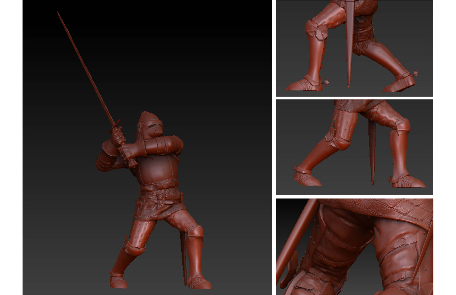 Collaborative Knight Sculpt
