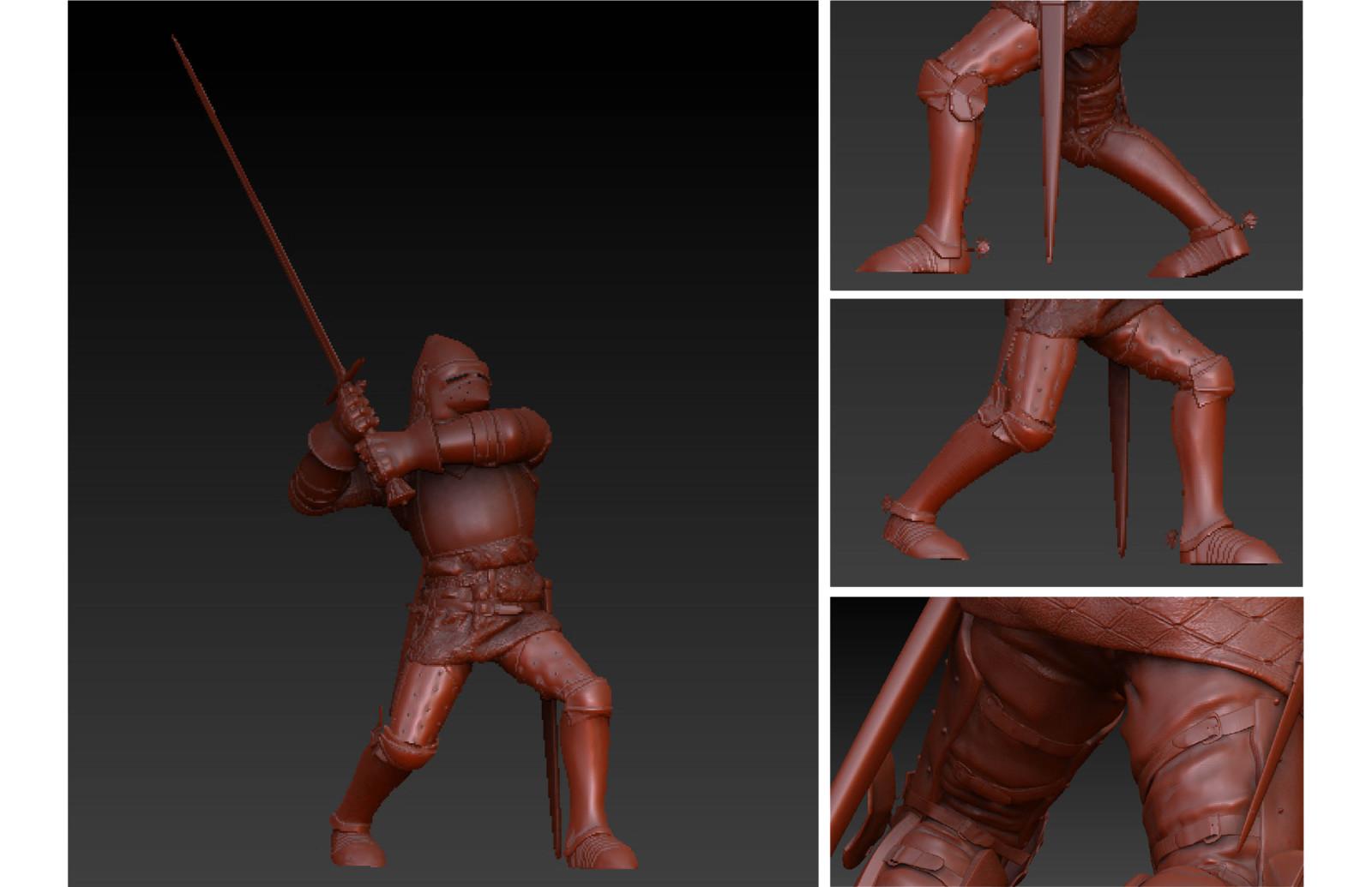 Collaborative Knight Sculpt