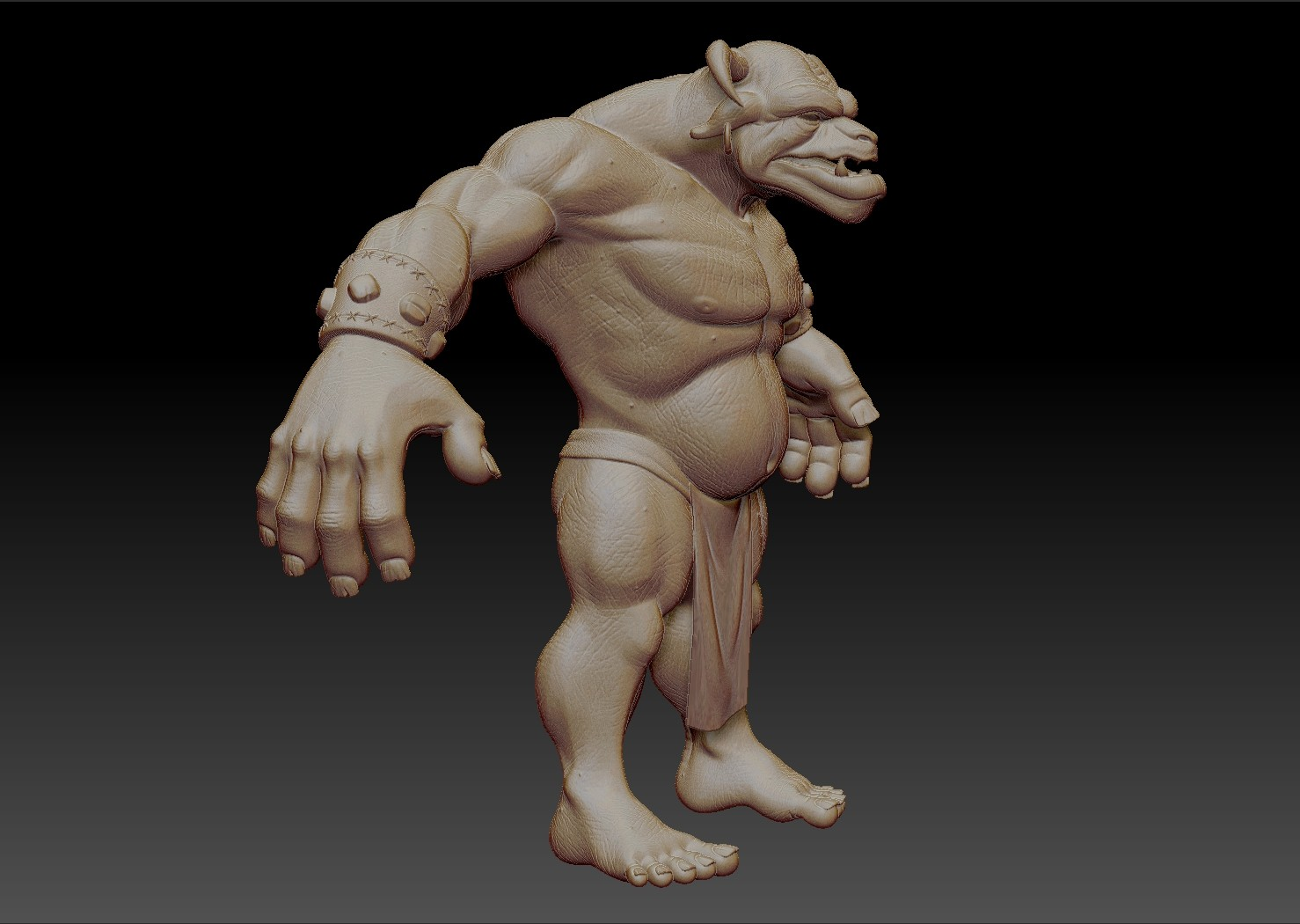 Bronn - Zbrush Sculpt