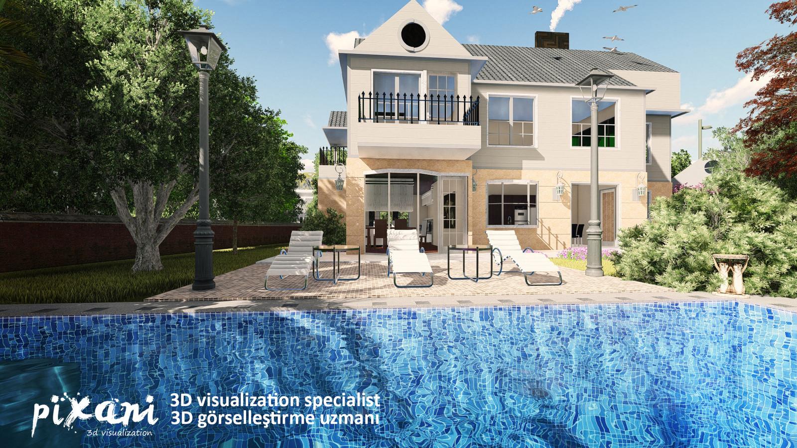 VENEND HOME  #Pixani 3D Visualization