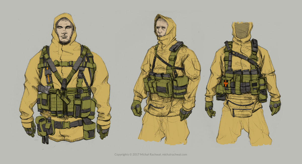 Michal rachwal michal rachwal tactical gear sketches1