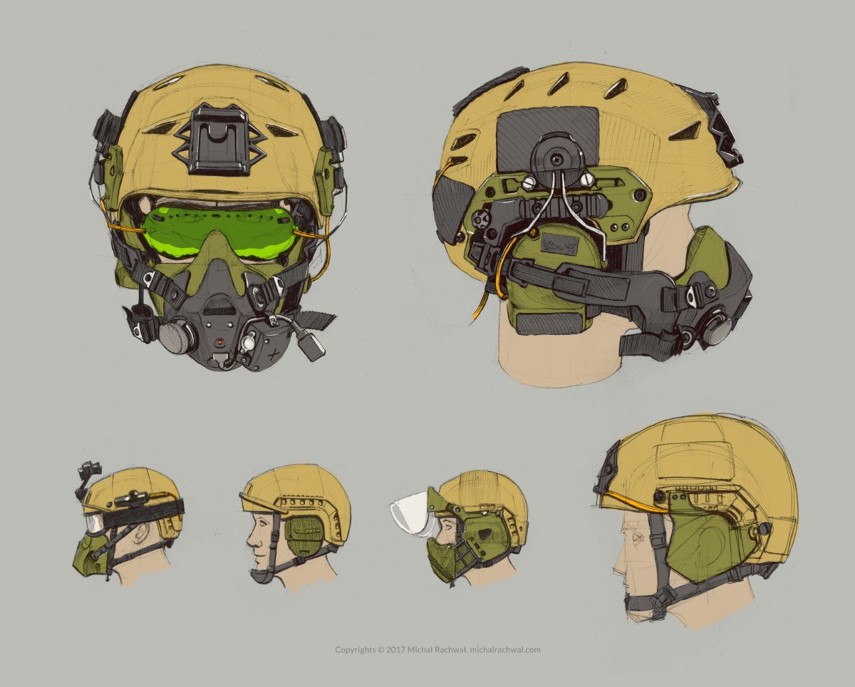 Michal rachwal michal rachwal tactical gear sketches3