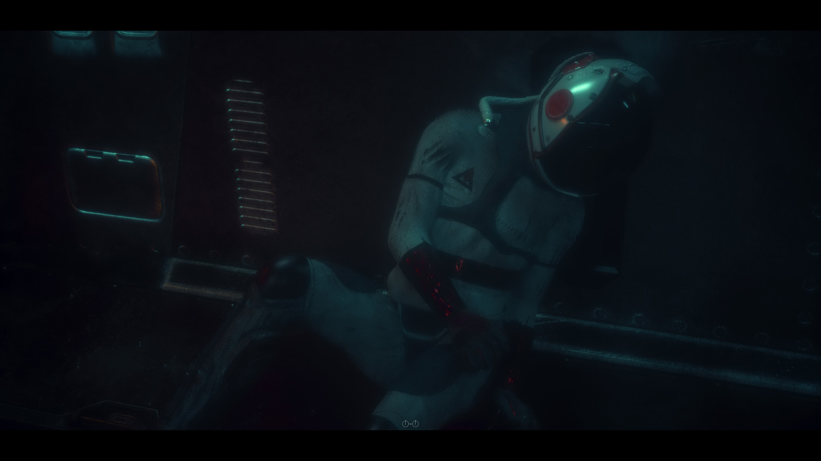 Closer look at the astronaut