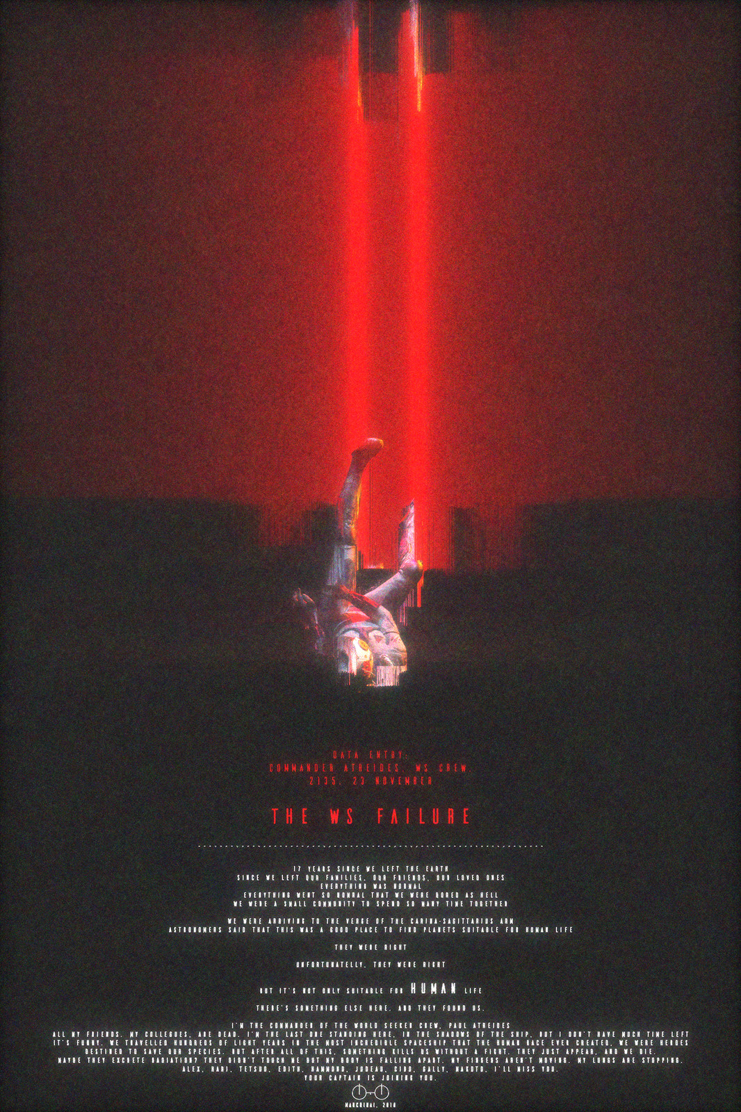 Concept promotional poster for the project vintage edition