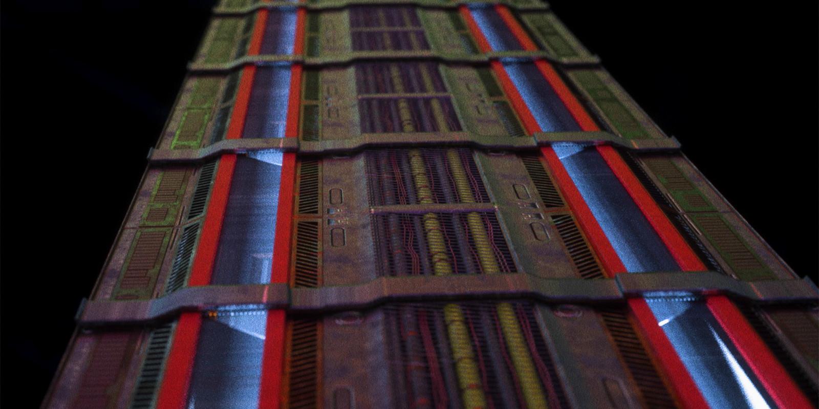 Asset of the project: Floor (Modeled: Cinema4D, textured: Substance Painter, rendered: Octane Render)