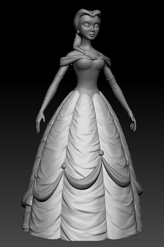 Belle - ZBrush Sculpt