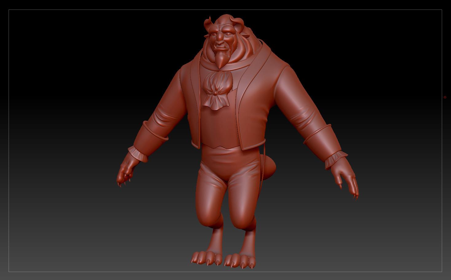Beast - ZBrush Sculpt