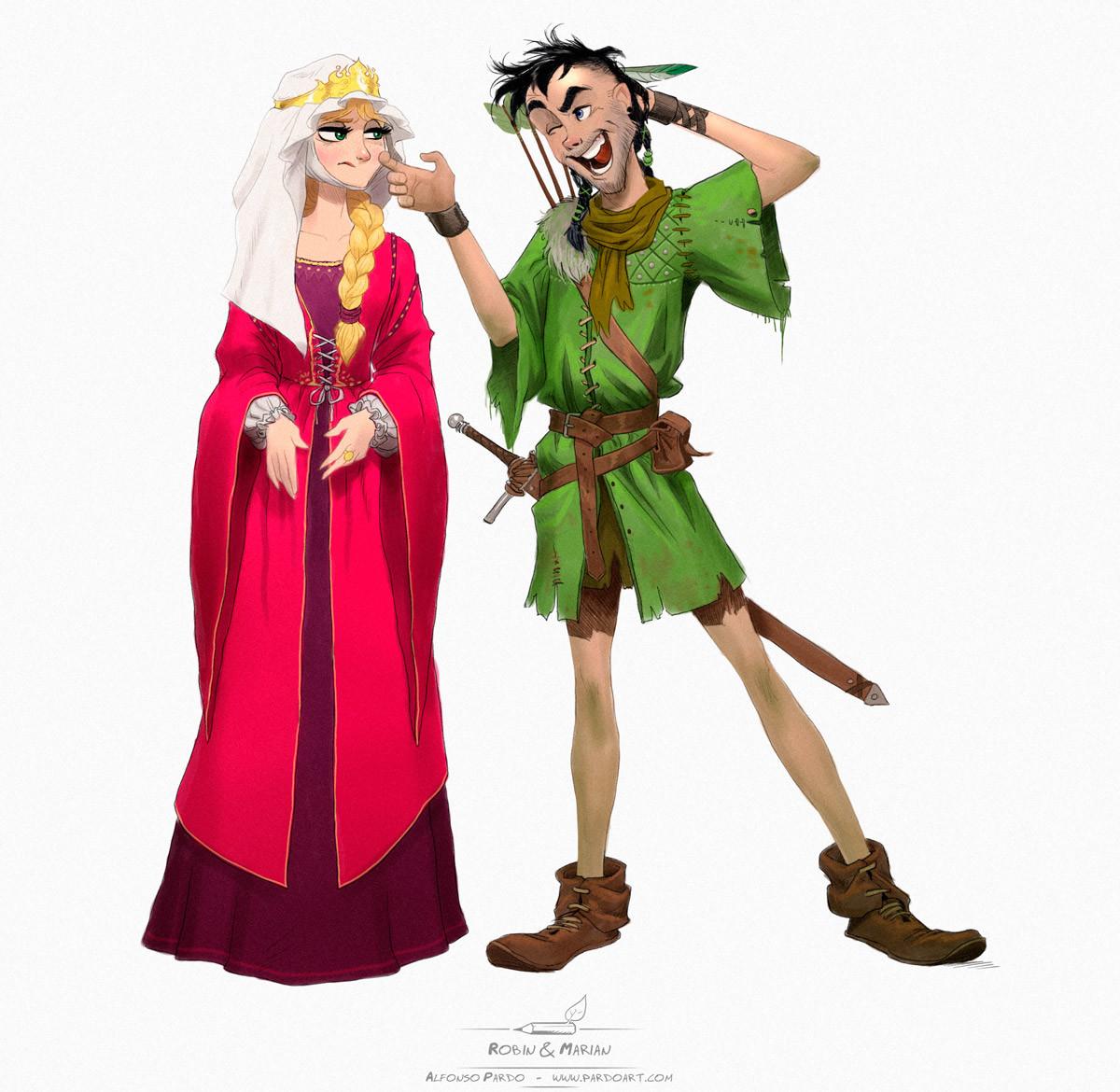 Robin & Marian 01