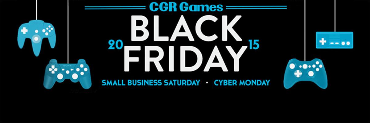 CGR Black Friday Banner Ad