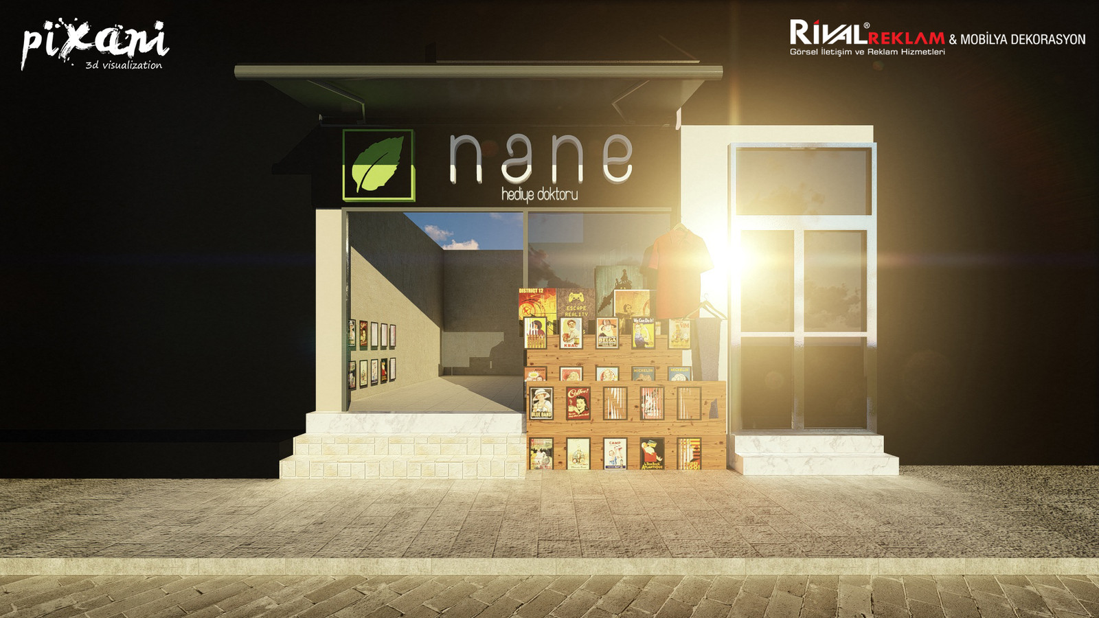 Nane-Limon Souvenir Shop is located in Kadikoy/Istanbul - Turkey.