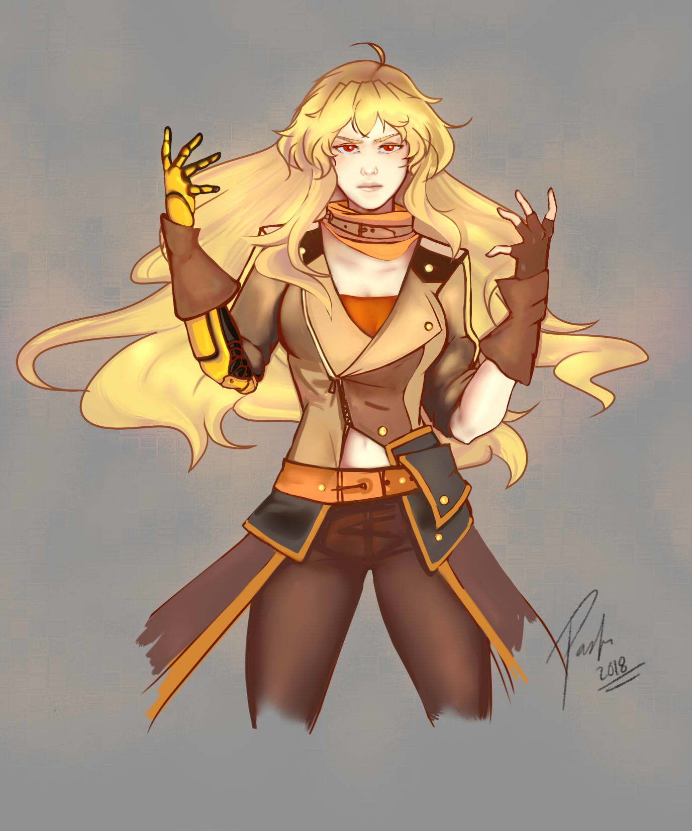 Paula Salas Fan Art Rwby
