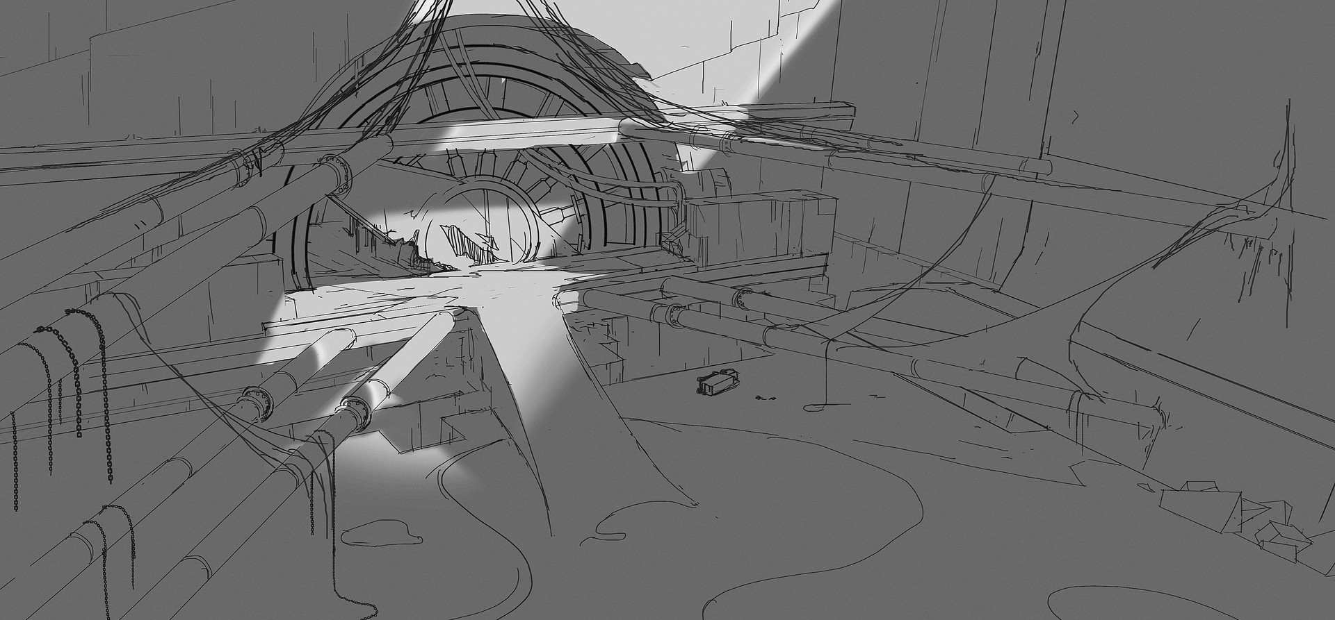 Kevin moran cave sketch