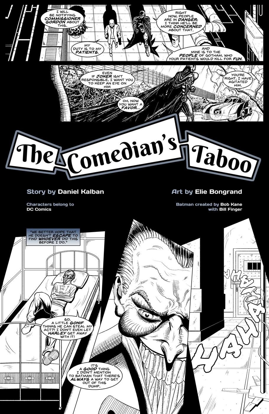Elie bongrand the comedian s taboo 5
