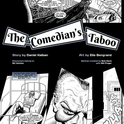 Elie bongrand the comedian s taboo 5