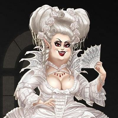 Michael dashow baroque vampire queen final 880x1100