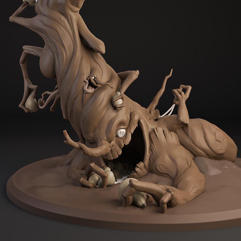 Ent concept sculpt
