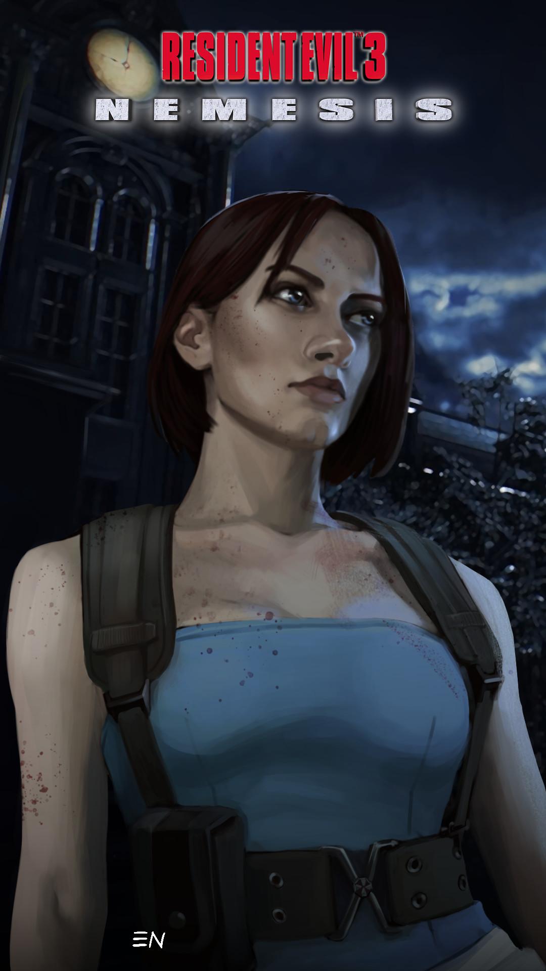 Artstation Resident Evil 3 Nemesis Biohazard 3 The Last