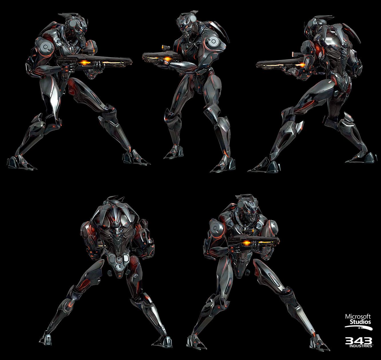 Kolby Jukes Character Artist Halo 5 Guardians