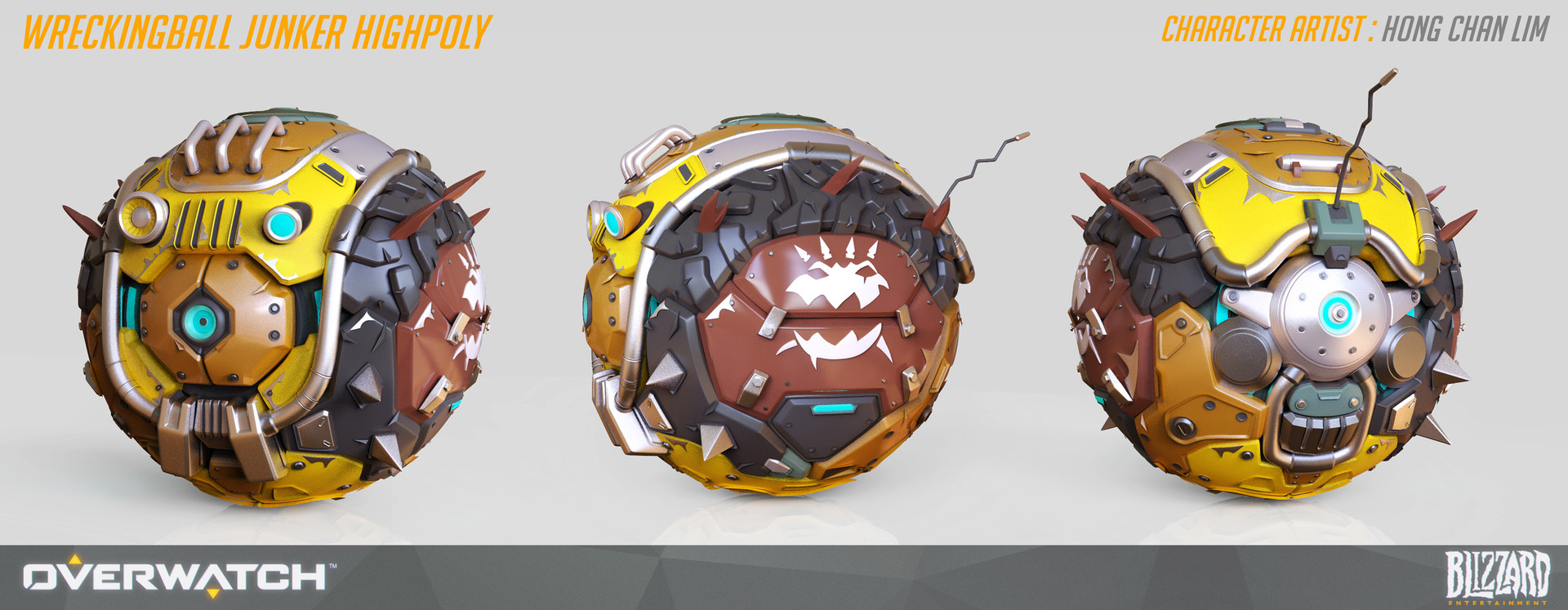 Overwatch wrecking ball
