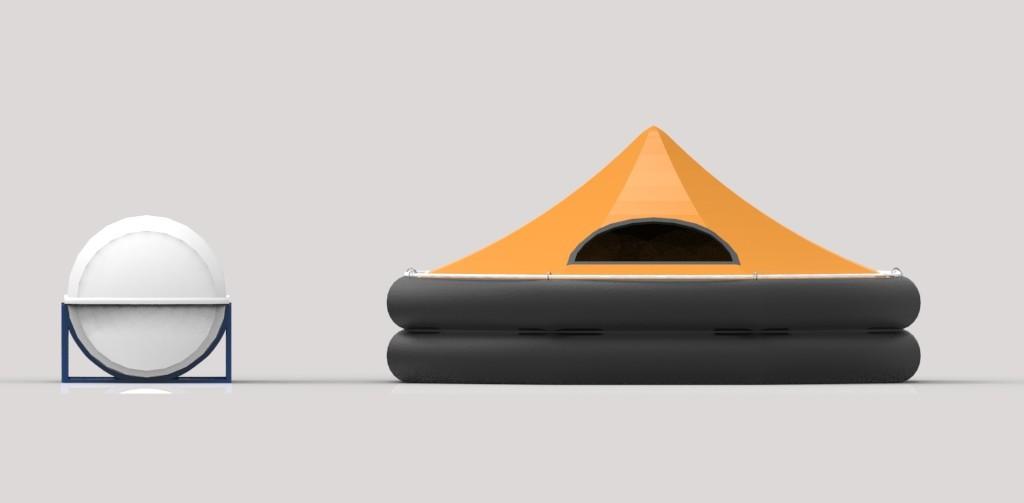 Lifeboat Modeling - Nautilus Maritima