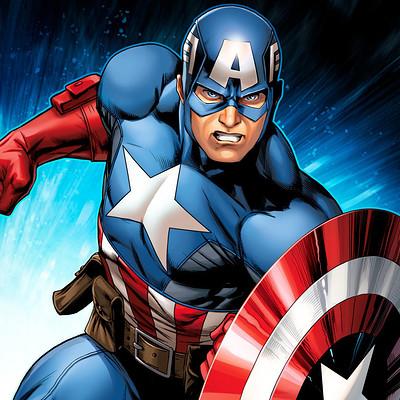Jeremy roberts avengers assemble captain america by jprart dbnhhzr
