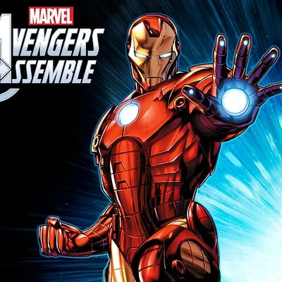 Jeremy roberts avengers assemble iron man by jprart dbnhhzx