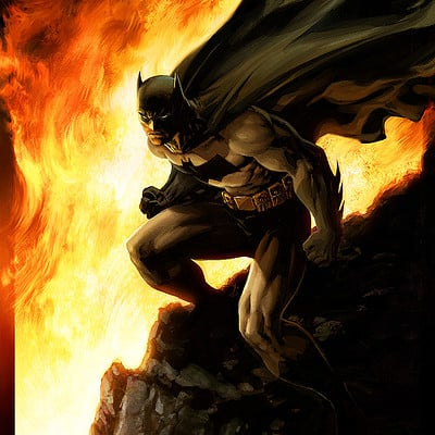 Jeremy roberts batman inferno by jprart