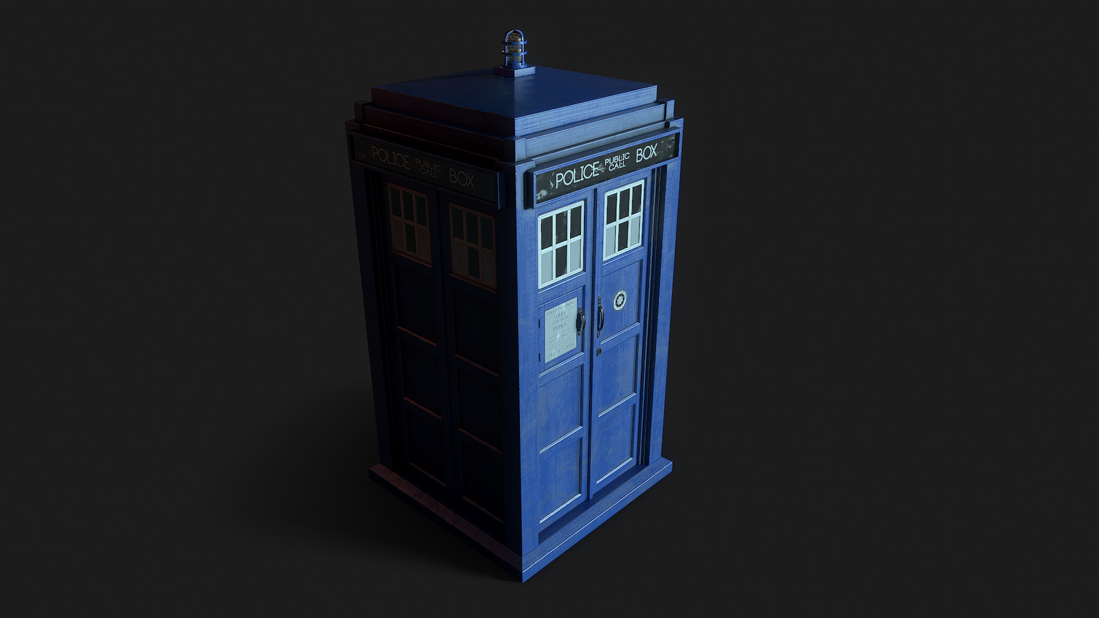 Tardis (time and relative dimension in space)  VR Project