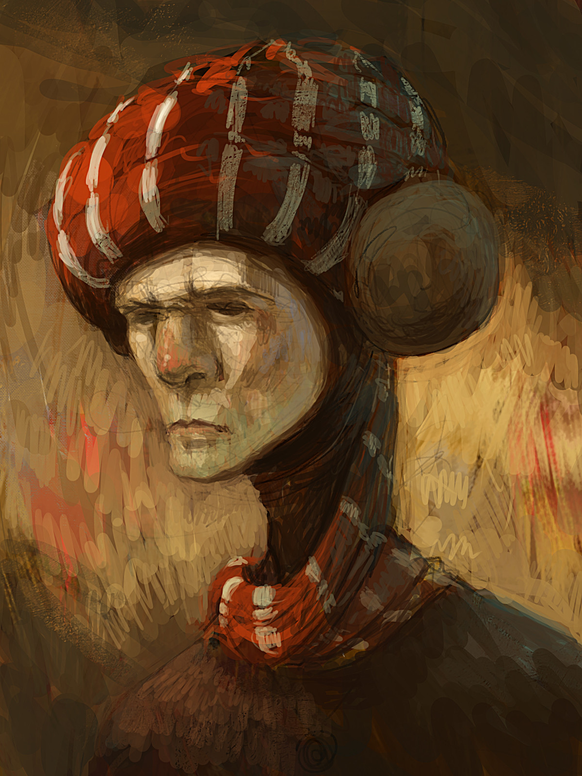 Imx awan sketching character