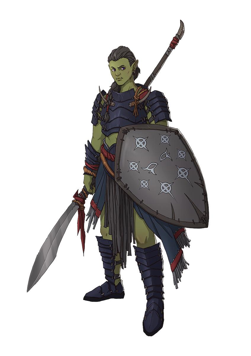 Tribal Hunter Fantasy Art