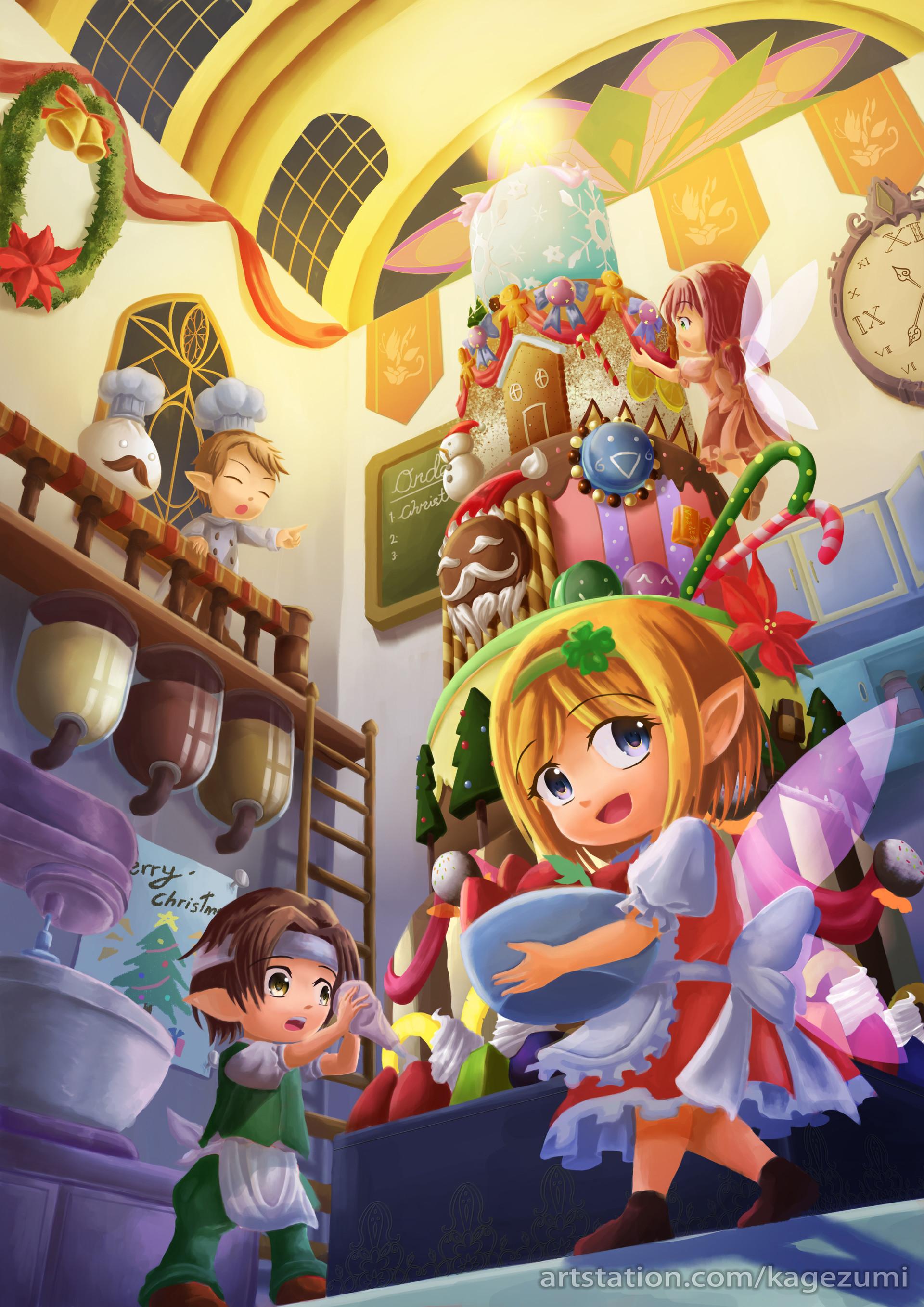 Kedama Alex Little Fairies Christmas Parade